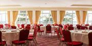 Room layout at the Imperial Hotel, Torquay, Devon