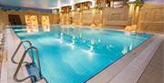 Aztec swimming pool at TLH Derwent Hotel, Torquay, Devon
