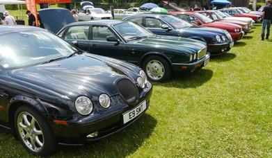 The Great West Jaguar Day & Classic Car Day, Torre Abbey, Torquay, Devon