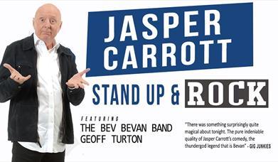 Jasper Carrott's Stand Up and Rock, Princess Theatre, Torquay, Devon