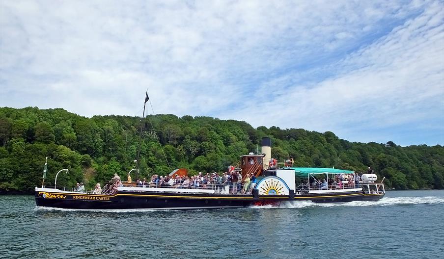 Kingswear Castle Paddle Steamer