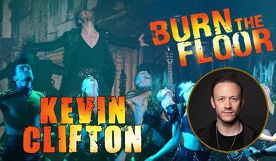 Kevin Clifton Burn the Floor, Princess Theatre, Torquay, Devon