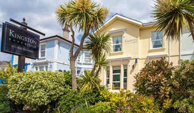Exterior, Kingston House, 75 Avenue Road, Torquay, Devon