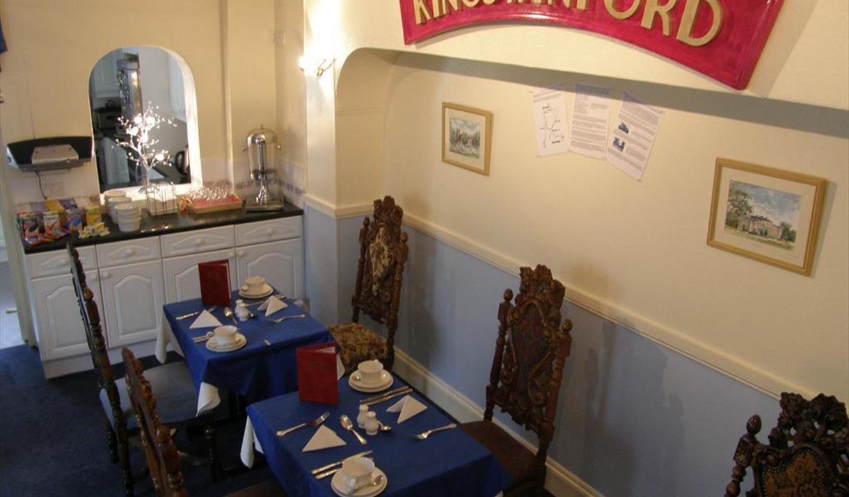 Breakfast Room, The Kingswinford, Paignton, Devon