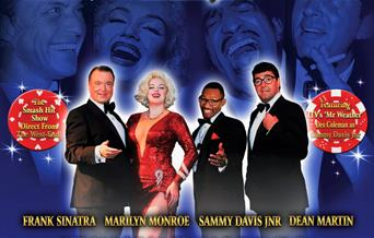Las Vegas Live with the Rat Pack and Marilyn, Palace Theatre, Paignton, Devon