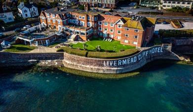 Outside Livermead Cliff Hotel Torquay, Devon