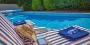 Outdoor swimming pool, The Lorrens Health Hydro, Torquay, Devon