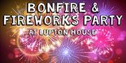 Lupton House Bonfire and Fireworks Party, Brixham, Devon