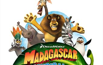 Madagascar the Musical JR, Palace Theatre, Paignton, Devon