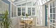 Mallock Cottage conservatory, Cockington Village, Torquay
