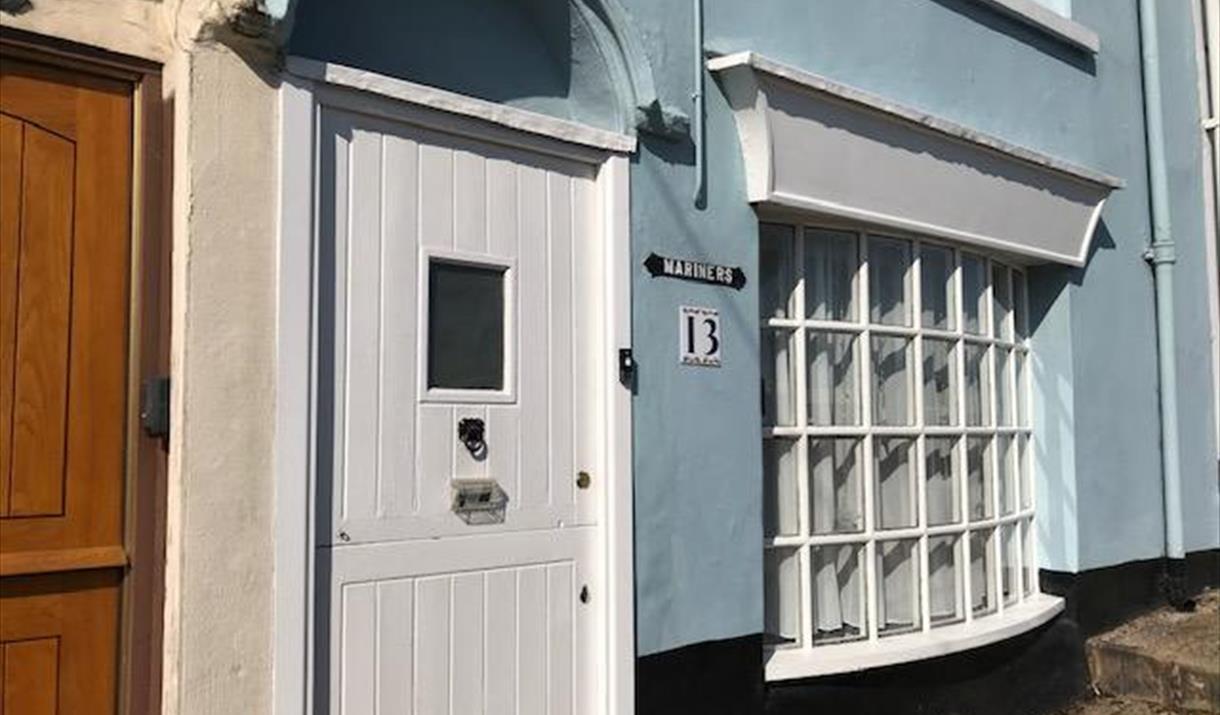 Exterior, Mariners Cottage, 13 Overgang, Brixham, Devon