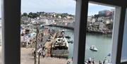 View from Mariners Cottage, 13 Overgang, Brixham, Devon