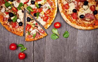 Pizza served in Mascarpone, Torquay, Devon