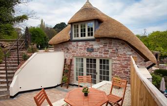 Outside, Mill Cottage, Cockington, Torquay, Devon