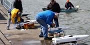 Offshore Model Powerboat Racing, Tor Bay, Devon