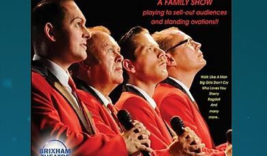 The New Jersey Boys, Brixham Theatre, Brixham Devon