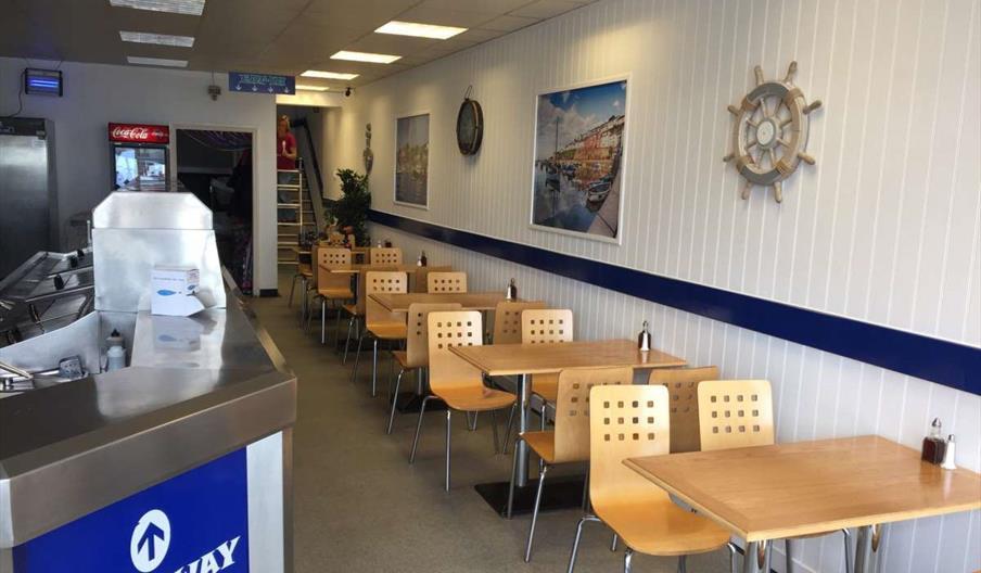 Nick's Fish Bar, Brixham, Devon