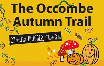 Torbay Coast and Countryside Trust - Occombe Autumn Trail, Paignton, Devon