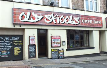 Old Skools Cafe Bar Torquay, Devon