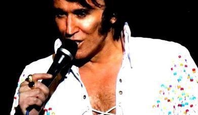 On Tour with Elvis, Babbacombe Theatre, Torquay, Devon