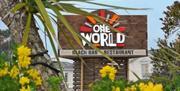 One World Cafe and Bistro, Torquay, Devon