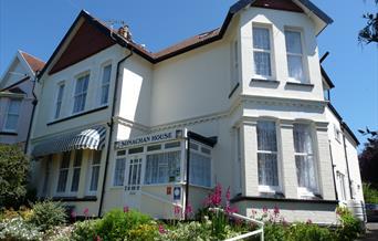 Sonachan House Front Paignton in Devon