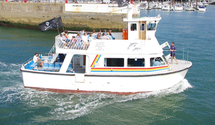 Dart Princess, Paignton Pleasure Cruises and Ferry, Paignton, Devon