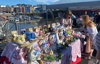 Paignton Harbourside Craft Market, Paignton, Devon