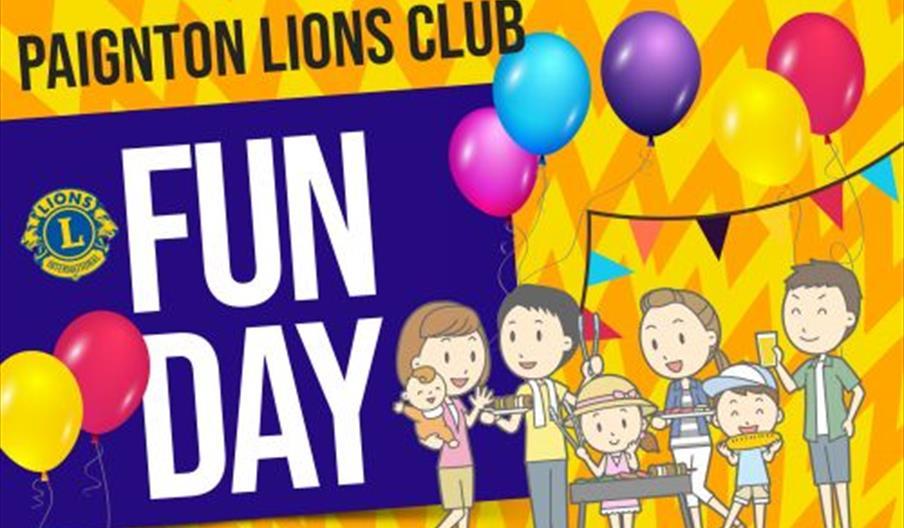 Paignton Lions Club Fun Day, Goodrington, Paignton, Devon