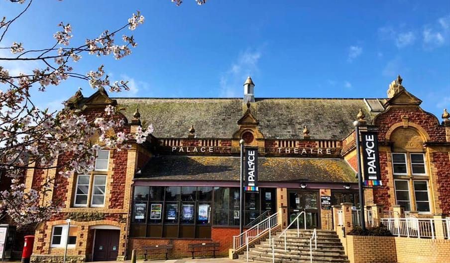 Exterior, Palace Theatre, Paignton, Devon