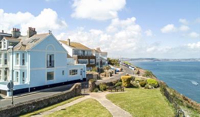 Exterior, Panoramic Cottage,1 Queens Road, Brixham, Devon
