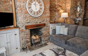 Lounge, Pebble Bay 16 North Furzeham Road, Brixham, Devon