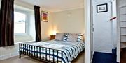 Double Bedroom, Pilgrim's Cottage, 2 Customs Court, Overgang, Brixham, Devon