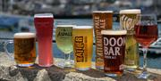 Drinks selection, Prince William, Brixham, Devon