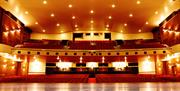 View from the stage in Princess Theatre, Torquay, Devon