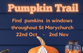 St Marychurch Pumpkin Trail, St Marychurch, Torquay, Devon