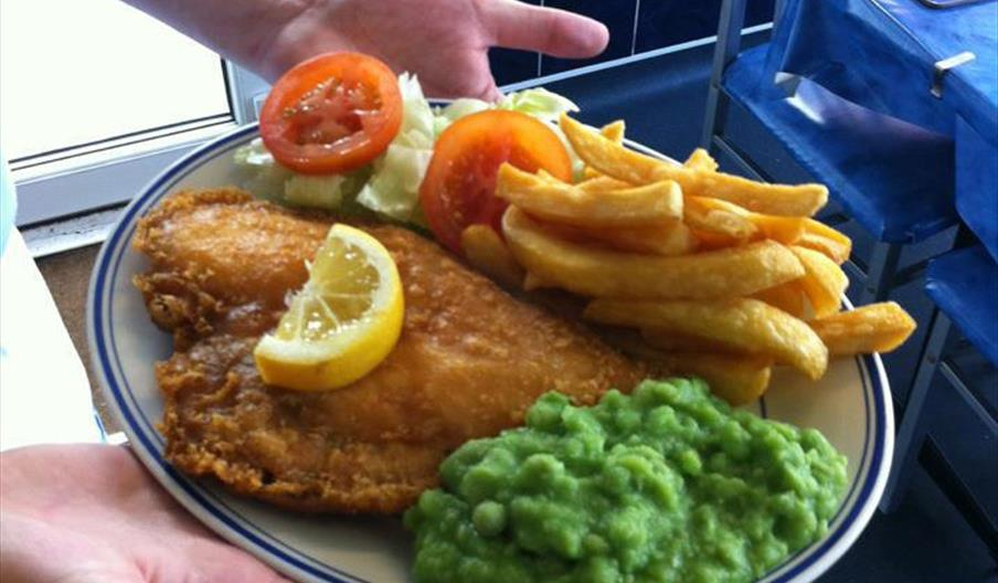 Richards Fish Cafe Paignton, Devon