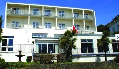 Outside, Hotel Richmond, Torquay, Devon