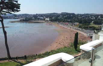 View from Riviera Apartment, Riviera Mansion, Torquay, Devon