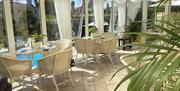 Conservatory, Riviera Lodge Hotel, Torquay, Devon