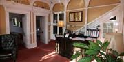 Reception, The Robin Hill Hotel, Torquay, Devon