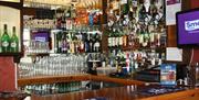 Bar at The Robin Hill Hotel, Torquay, Devon