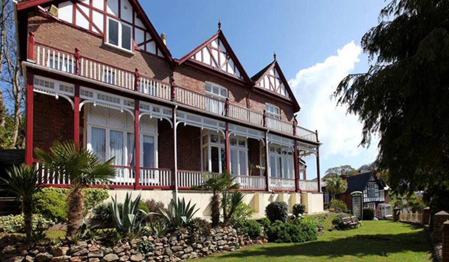 Exterior, The Robin Hill Hotel, Torquay, Devon