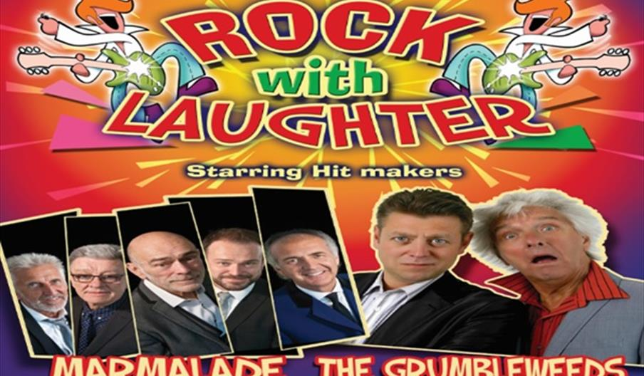Rock with Laughter, Babbacombe Theatre, Torquay, Devon