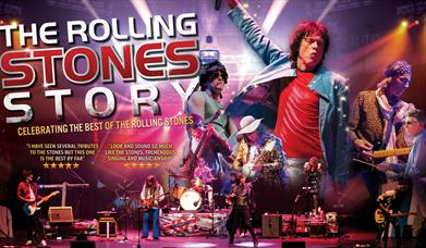 Rolling Stones Story, Princess Theatre, Torquay, Devon