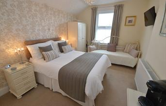 Bedroom no 1 at Belle Dene, Paignton, Devon