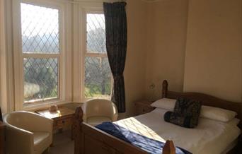 Double bedroom, Rowcroft Lodge, Goodrington, Paignton, Devon