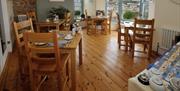 Dining room,Beacon House, Brixham, Devon