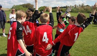 SCI Football Tournament, Torquay, Paignton, Devon