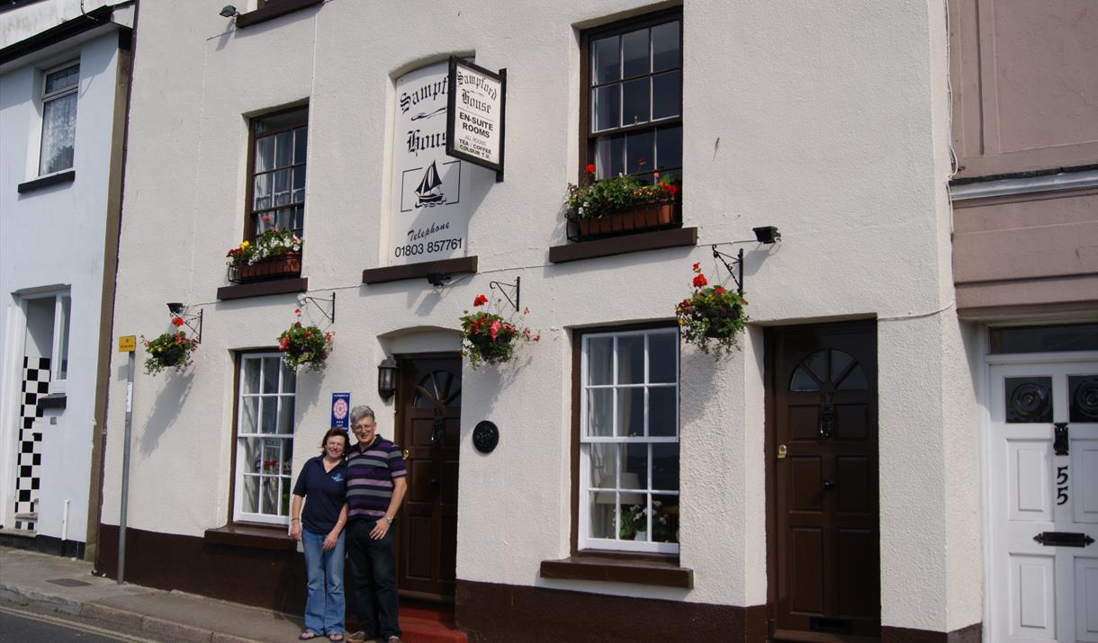 Exterior, Sampford House, Brixham, Devon